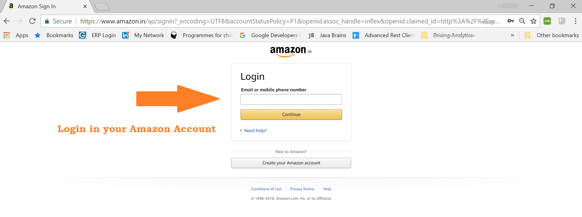 Steps to get Amazon Email Delivery Code in India using Message Center